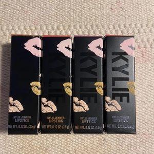 4x KYLIE Cream & Matte Bullet Lipstick 💄 Set